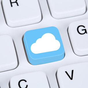 internet concept symbol cloud computing onlineの素材 [FYI00635811]
