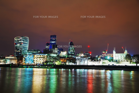 Financial district of the City of Londonの写真素材 [FYI00636323]