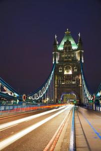 Tower bridge in London, Great Britainの写真素材 [FYI00636334]