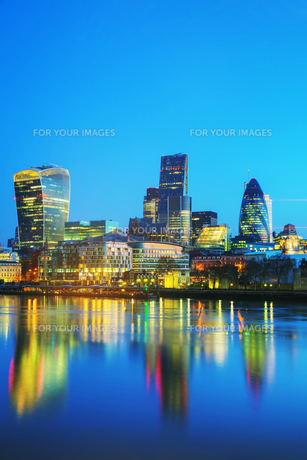 Financial district of the City of Londonの写真素材 [FYI00636352]