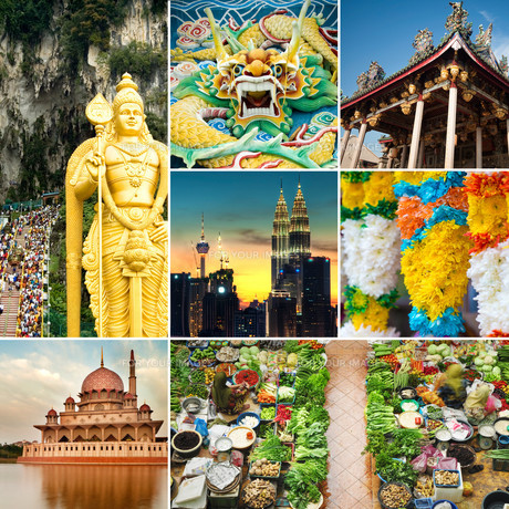 Malaysia attractionsの写真素材 [FYI00636493]