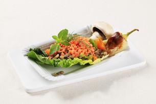 Vegetarian dishの写真素材 [FYI00636539]