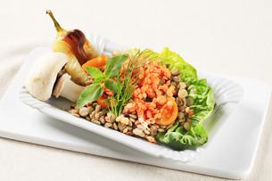 Vegetarian dishの写真素材 [FYI00636560]