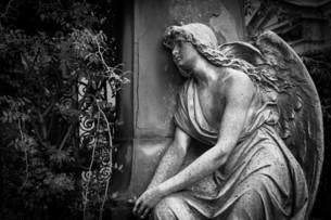Old Cemetery statueの素材 [FYI00637402]
