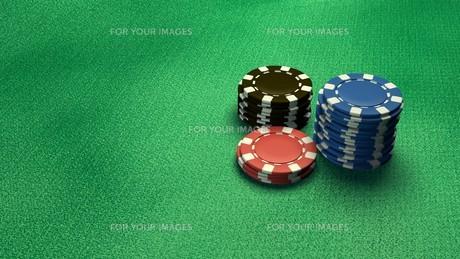 casino chips isolateの素材 [FYI00637689]