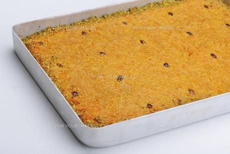 Turkish pastry kadaifの写真素材 [FYI00637782]