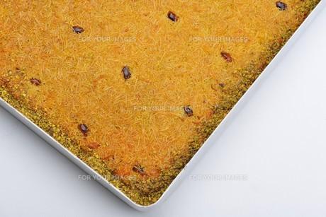 Turkish pastry kadaifの写真素材 [FYI00637785]