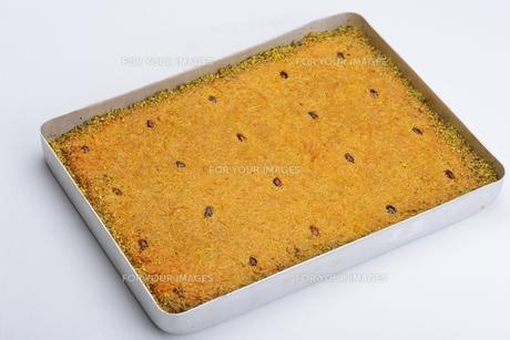 Turkish pastry kadaifの写真素材 [FYI00637787]