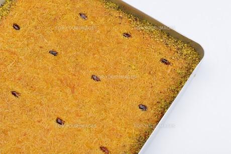 Turkish pastry kadaifの写真素材 [FYI00637789]