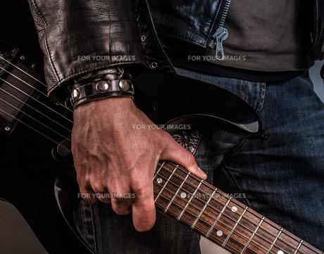 Rock guitarの写真素材 [FYI00637800]