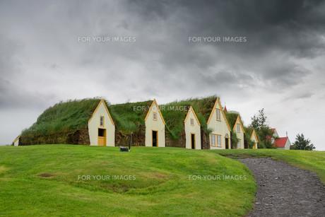 Turf housesの写真素材 [FYI00637831]
