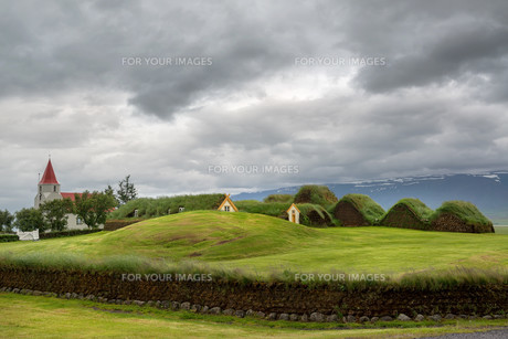 Turf housesの写真素材 [FYI00637833]