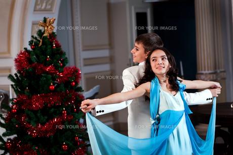 Romantic Danceの写真素材 [FYI00637945]