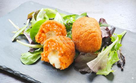 Soppli  a typical Italian street foodの素材 [FYI00637951]