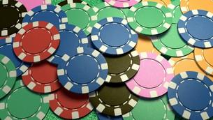 mass casino chipsの写真素材 [FYI00638065]