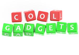 Buzzwords cool gadgetsの写真素材 [FYI00638359]