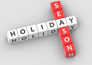 Buzzwords holiday seasonの写真素材 [FYI00638377]
