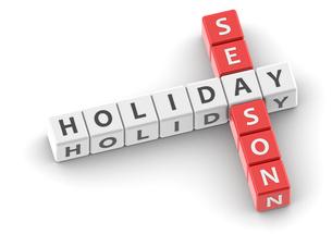 Buzzwords holiday seasonの写真素材 [FYI00638378]