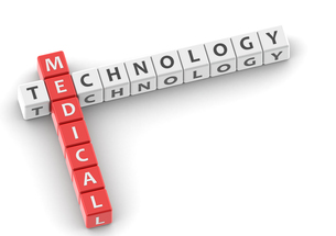 Buzzwords medical technologyの写真素材 [FYI00638384]