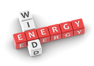 Buzzwords wind energyの写真素材 [FYI00638400]