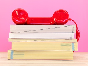 Vintage Telephoneの写真素材 [FYI00638493]