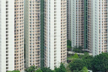 Building apartmentの写真素材 [FYI00638655]