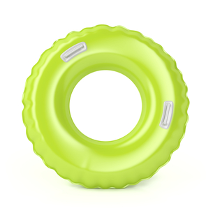 Green swim ringの写真素材 [FYI00638745]
