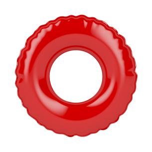 Red swim ringの写真素材 [FYI00638757]
