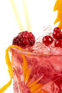 Berries cocktailの写真素材 [FYI00638971]