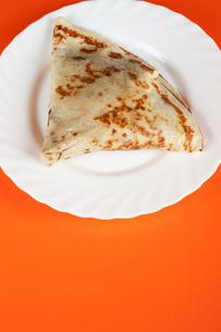 stuffed pancakesの写真素材 [FYI00638985]