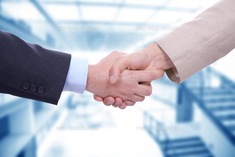 handshakeの素材 [FYI00639467]