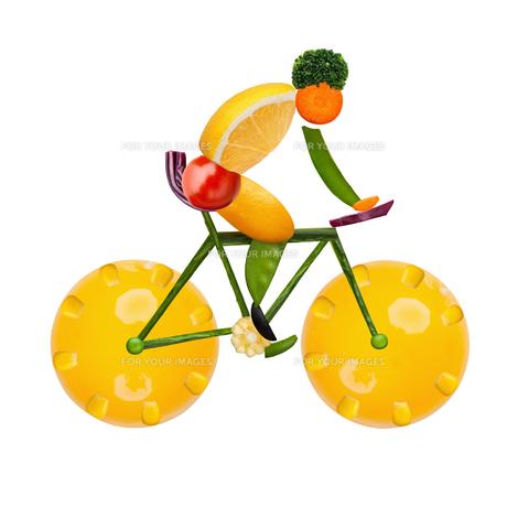 Healthy cyclist.の素材 [FYI00639733]