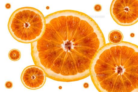 Half orange patternの写真素材 [FYI00640479]