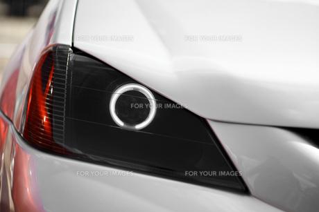 Car LED headlightの写真素材 [FYI00640928]