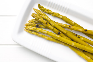 pickled asparagusの写真素材 [FYI00641032]