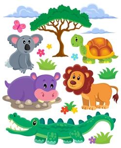 Animals topic collection 1の素材 [FYI00641038]