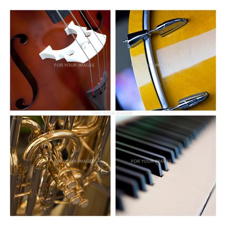 Musical instrumentsの写真素材 [FYI00641117]