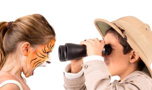 Tiger and explorerの素材 [FYI00641464]