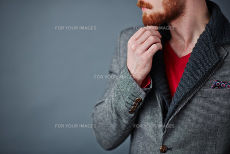 Smart casual styleの写真素材 [FYI00641590]
