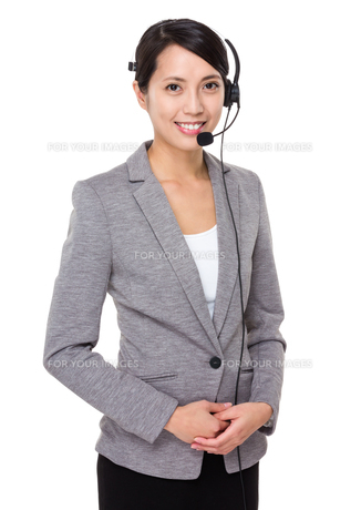 Customer services executiveの写真素材 [FYI00641804]