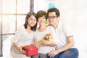 Celebrate mothers dayの写真素材 [FYI00642111]