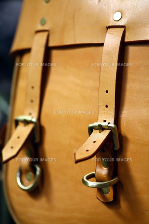 Vintage leather bagの写真素材 [FYI00642463]