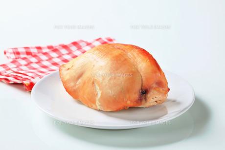 Roast turkey breastの写真素材 [FYI00642597]