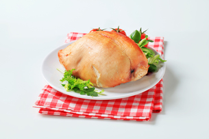 Roast turkey breastの写真素材 [FYI00642602]