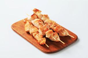 Chicken skewersの写真素材 [FYI00642671]