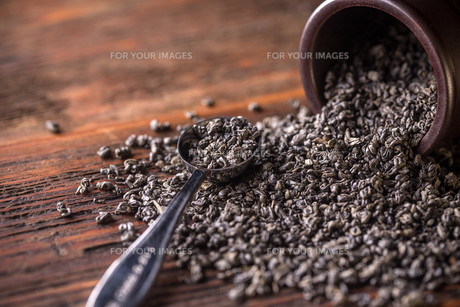 Tea leavesの素材 [FYI00642929]