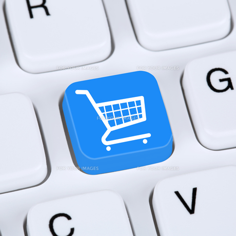 internet concept online shopping ecommerce order and shoppingの写真素材 [FYI00643519]