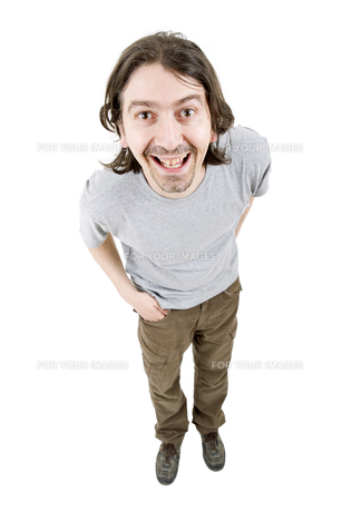 man full bodyの写真素材 [FYI00643635]