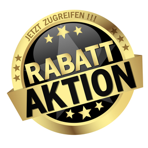 button with text rabattaktionの素材 [FYI00643729]