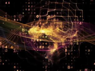 Advance of Data Cloudの写真素材 [FYI00643873]